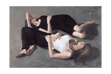 Sisters Giclee Print by John Worthington