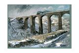 Arten Gill Viaduct Giclee Print by John Cooke