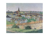 View of St. Luke's, Brighton Giclee Print by Robert Tyndall