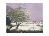 Suffolk Landscape, C.1968 Giclee Print by Anna Katrina Zinkeisen
