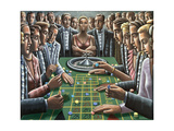 Wheel of Fortune, 1991 Giclee Print by P.J. Crook