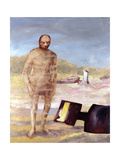 Kelly and Armour, 1962 Giclee Print by Sir Sidney Nolan