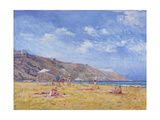 Bathers, Gozo Giclee Print by Christopher Glanville