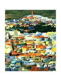 North African Townscape Giclee Print by Robert Tyndall