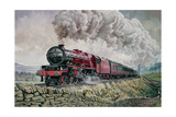 The Princess Elizabeth Storms North in All Weathers Giclee Print by David Nolan