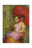 The Parasol, Bali, 2002 Giclee Print by Karen Armitage