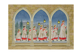 Choirboys Procession Giclee Print by Stanley Cooke
