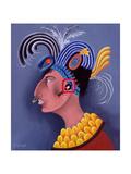 Fantasia De Los Mayas, 1999 Giclee Print by John Wright