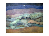 Yorkshire Moon, 1992 Giclee Print by Lucy Raverat