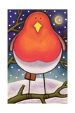 Christmas Robin, 1997 Giclee Print by Cathy Baxter