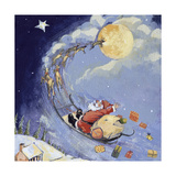 Christmas Night, 1999 Giclee Print by David Cooke