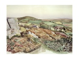 Welsh Landscape, 1947 Giclee Print by John Northcote Nash