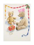 Teddy Bear's Parcel Giclee Print by Lavinia Hamer