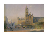 Early Morning, Euston Road, 1988 Giclee Print by Trevor Chamberlain