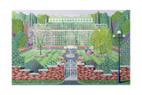 The Greenhouse in the Park Giclee Print by Peter Szumowski
