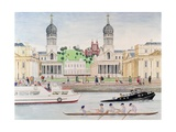 Greenwich Giclee Print by Gillian Lawson