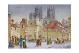 Bootham Bar, York Giclee Print by Stanley Cooke