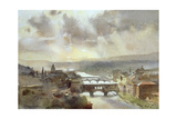 River Arno, Florence Giclee Print by Trevor Chamberlain