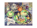 The Breakfast Tray Giclee Print by Elizabeth Jane Lloyd