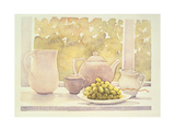 Still Life with Grapes Giclee Print by Lillian Delevoryas
