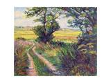 The Track to Boleyn's Farm, Kent Giclee Print by Robert Tyndall