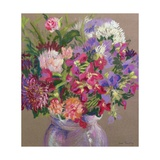 Asters Giclee Print by Joan Thewsey