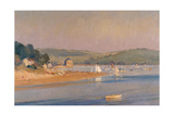 Warm Summer Evening, Cornwall, 1987 Giclee Print by Trevor Chamberlain