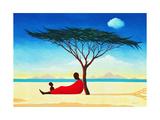 Turkana Afternoon, 1994 Giclée-Druck von Tilly Willis