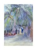 Anjuna Market, Goa, India, 1997 Giclee Print by Sophia Elliot