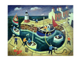 Safe Harbour, Brittany Giclee Print by William Cooper