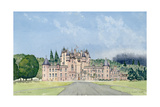 Glamis Castle, Tayside Giclee Print by David Herbert