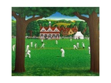 The Cricket Match, 1987 Giclee Print by Larry Smart