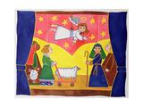 The Nativity Play Gicléedruk van Cathy Baxter