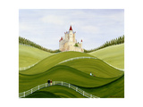 Chateau Giclee Print by Mark Baring