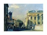 Morning, Ashmolean Museum, 1984 Giclee Print by Trevor Chamberlain