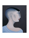 Women in Profile Series, No. 11, 1998 Giclee Print by John Wright