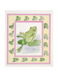 Frogs Giclee Print by Miranda Legard