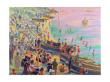 Brighton Beach Giclee Print by Robert Tyndall