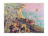 Brighton Beach Giclee Print by Robert Tyndall