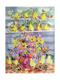 Bounty of Quinces Giclee Print by Elizabeth Jane Lloyd