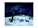 Silent Night, Holy Night, 1995 Giclee Print by Magdolna Ban