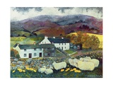 Sheep Country, 1988 Giclee Print by Lisa Graa Jensen