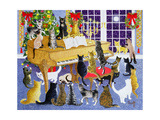 Christmas Chorus Giclee Print by Pat Scott