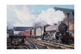 A 'Thompson' B1 Class Moving Empty Stock on a Cold February Morning, 1998 Giclee Print by David Nolan