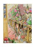 Potting Up, 1997 Giclee Print by Tony Todd
