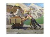 The Clay Pit, 1923 Giclee Print by Harold Harvey