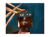 Ned Kelly, 1955 Giclee Print by Sir Sidney Nolan