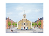 Grosvenor Chapel, London Giclee Print by Mark Baring
