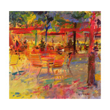 Lunch on the Terrace Giclee Print by Peter Graham