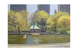 The Boating Lake, Central Park, New York, 1997 Giclee Print by Julian Barrow
